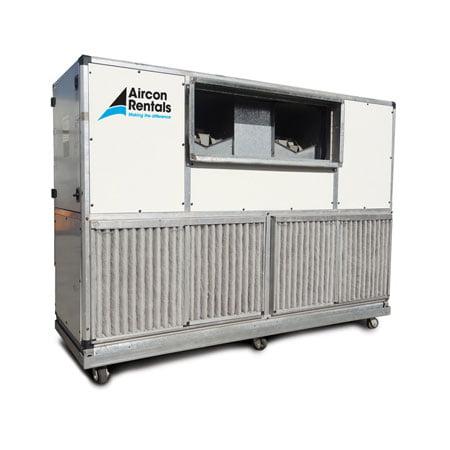 100 200kw Air Handler Unit Air Conditioner Rental Air