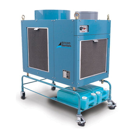 10kw Mobile Spot Cooler Air Conditioner Rental Air