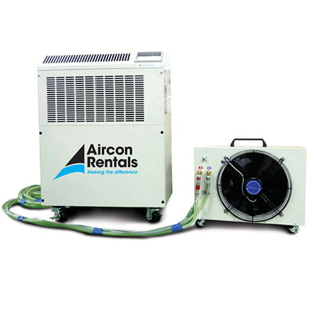 4 8kw Water Cooled Split System Air Conditioner Rental