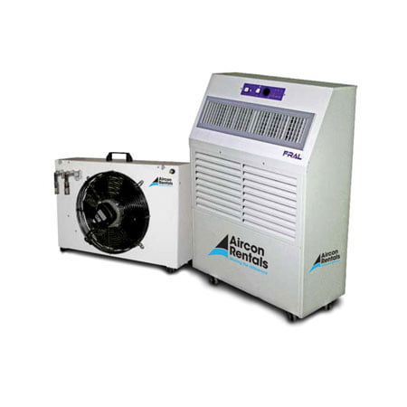 6 6kw Water Cooled Split System Air Conditioner Rental