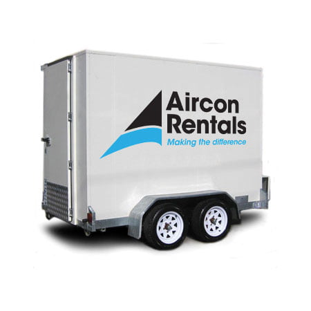 Freezer – Trailer Mounted - Air Conditioner Rental, Air