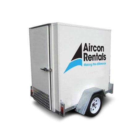 Air Conditioner Rental >> Fridge Trailer Mounted Air Conditioner Rental Air