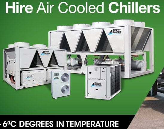 Hire Chillers and Aircon
