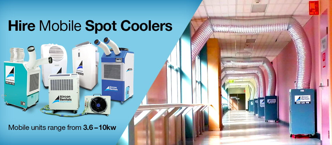 Hire mobile spot coolers