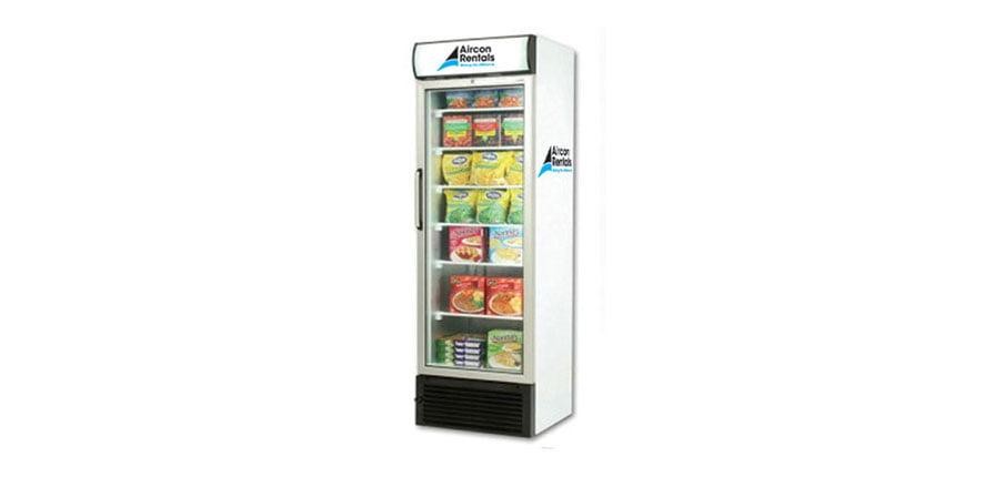 freezer rental when ice cream melts
