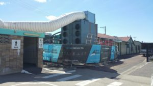 Example of portable air conditioner rental in action