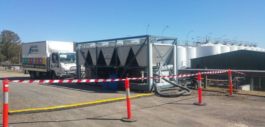 500kw chiller hire
