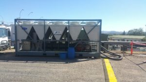 500kw chiller hire winery