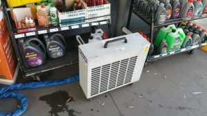 The outside unit - 4.8kW portable - Air Conditioner Rentals - Aircon Rentals
