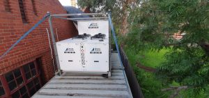 72kw package unit school aircon hire