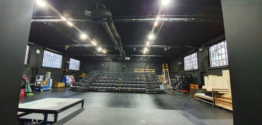 Rental aircon unit in drama room