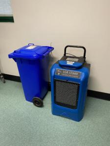 Rental Dehumidifier with condensate bin