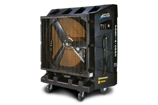 Warehouse Cooling rental Portable Evap Cooler