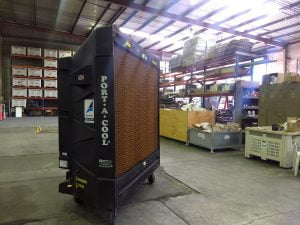 Warehouse cooling rental 48 inch evaporative cooler