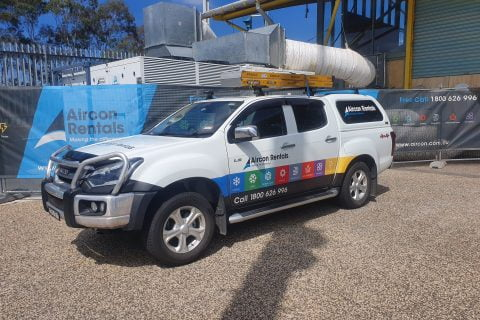 Aircon Rentals 200kw package unit