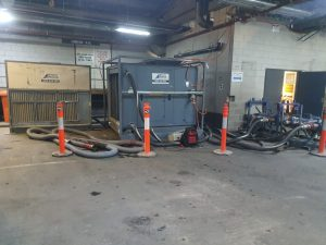 AHU hired as a dry cooler